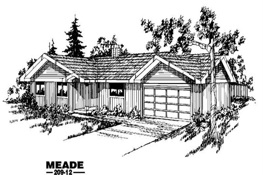 Main image for house plan # 3358