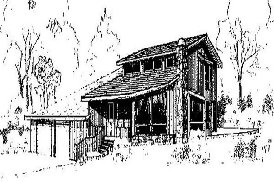 Main image for house plan # 6741