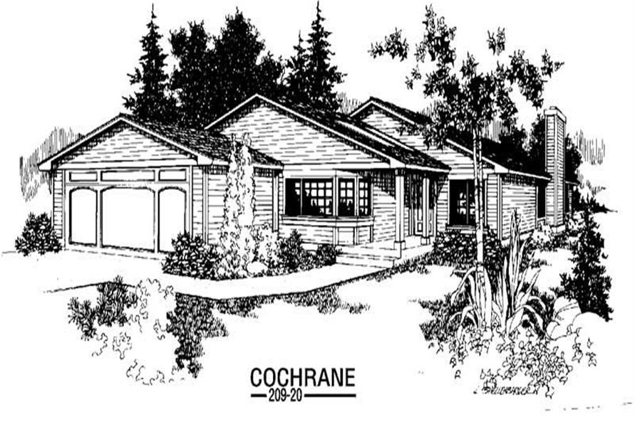 Main image for house plan # 3360