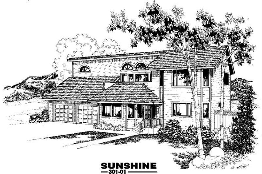 Main image for house plan # 3394
