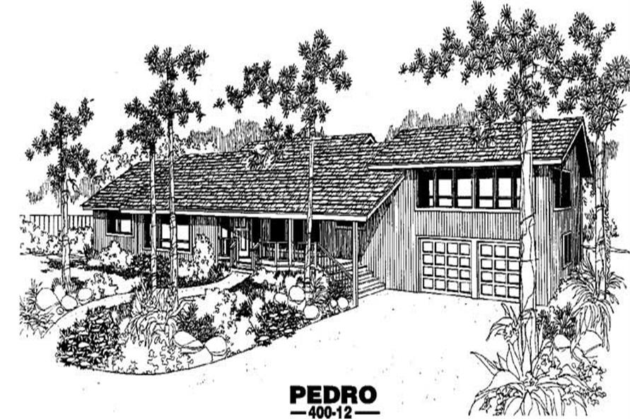 Main image for house plan # 3845