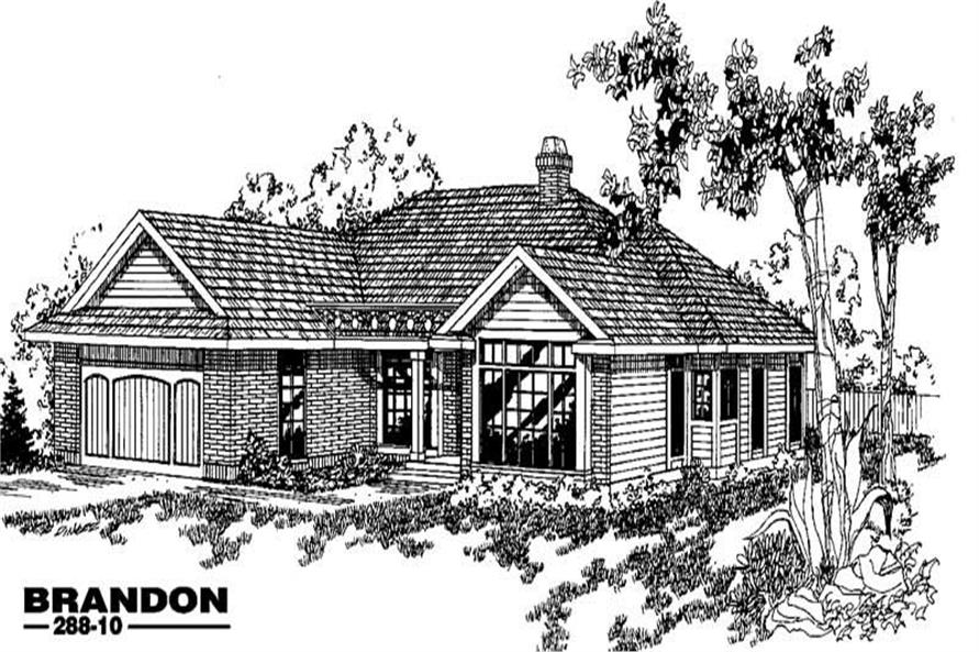 Main image for house plan # 3390