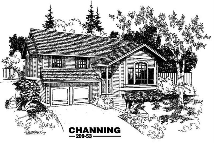Main image for house plan # 3385