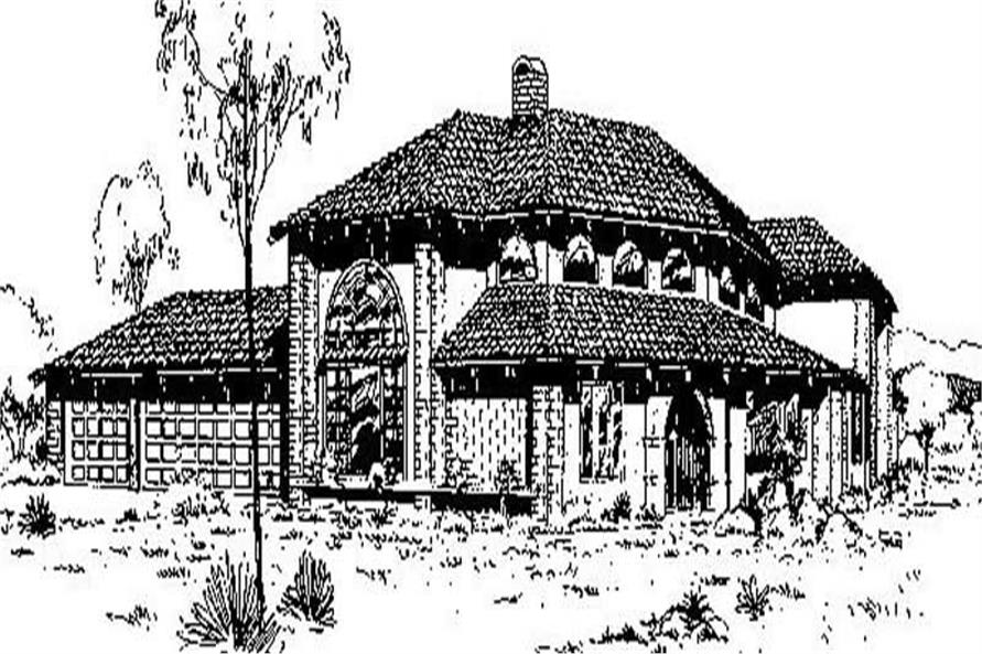 Main image for house plan # 6750