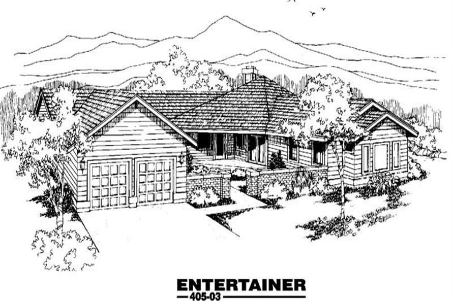 Main image for house plan # 6208