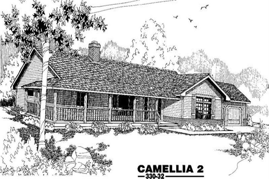 Main image for house plan # 3397