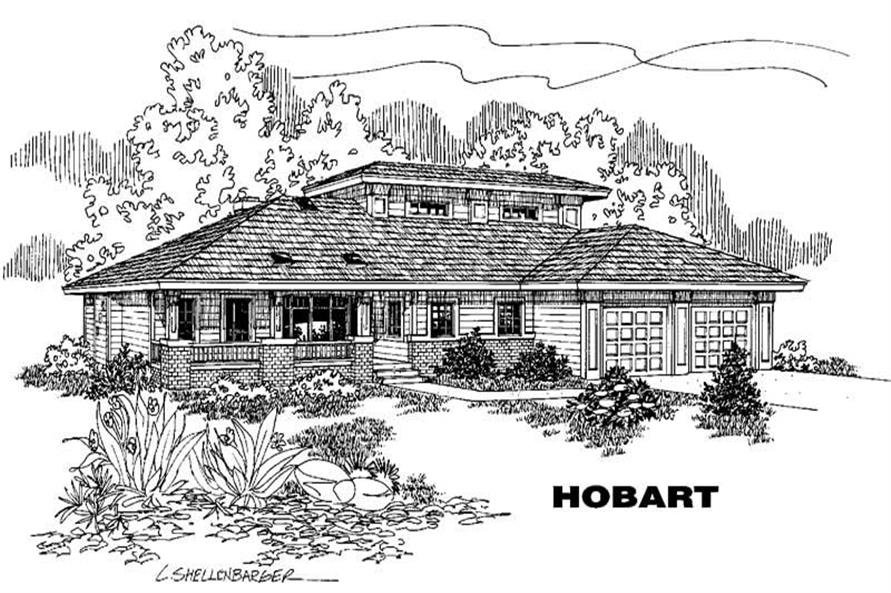 Main image for house plan # 3575