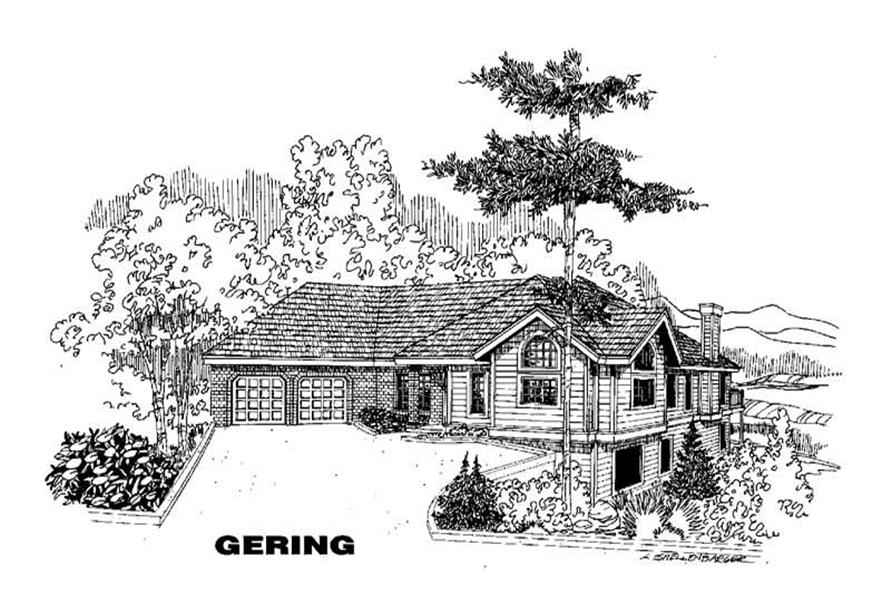 Main image for house plan # 3576