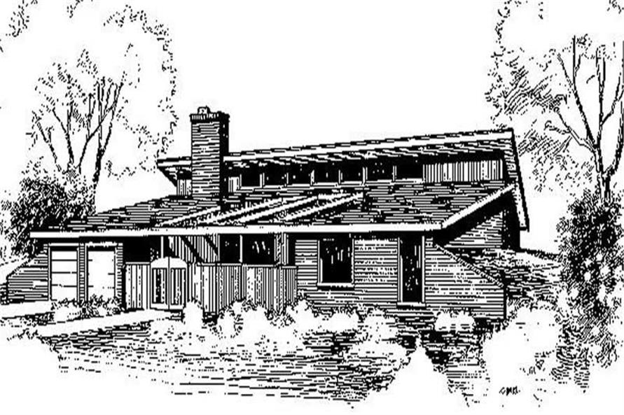 Main image for house plan # 6732