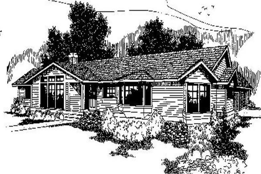 Main image for house plan # 6726