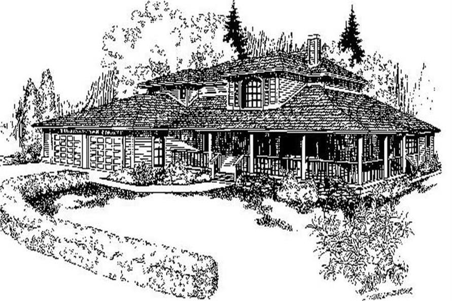 Main image for house plan # 6725