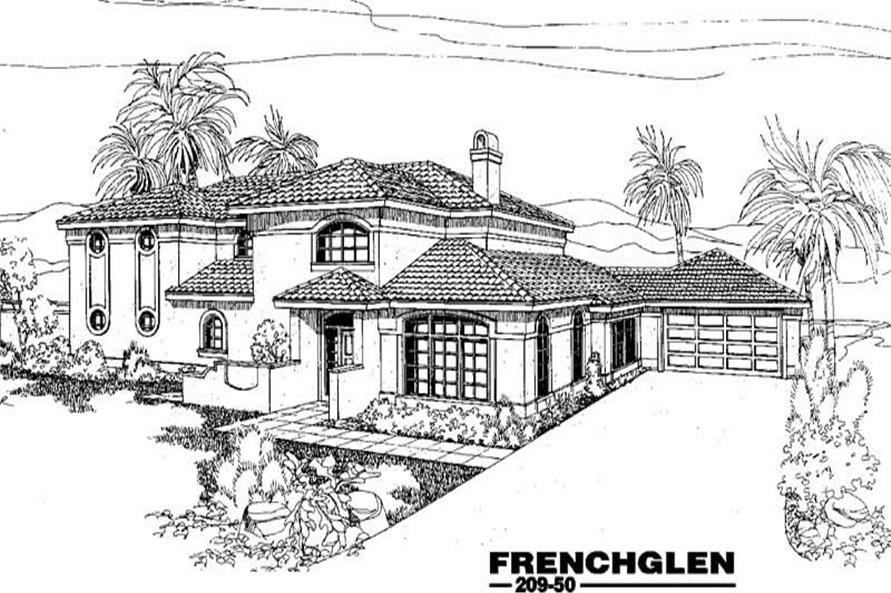 Main image for house plan # 3380