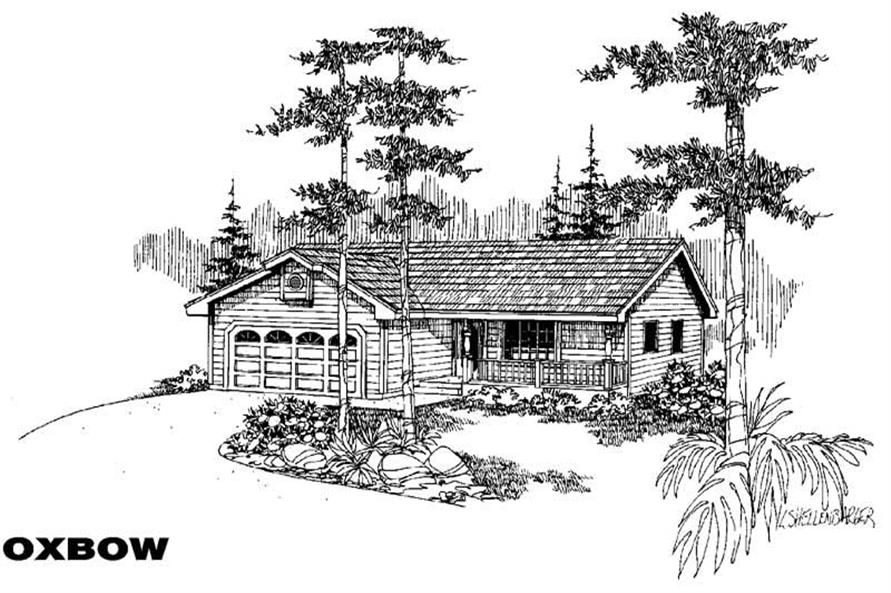 Main image for house plan # 5600