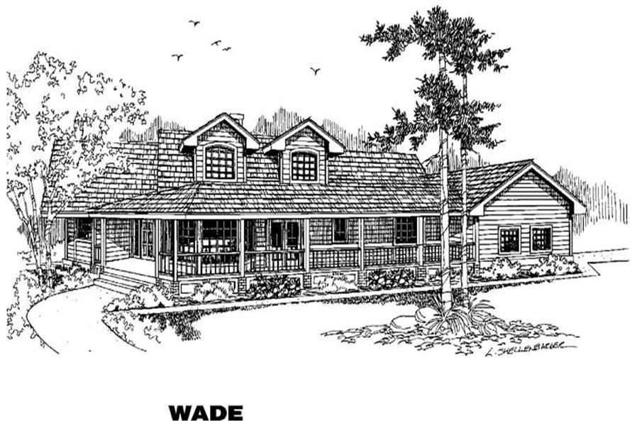 Main image for house plan # 4673