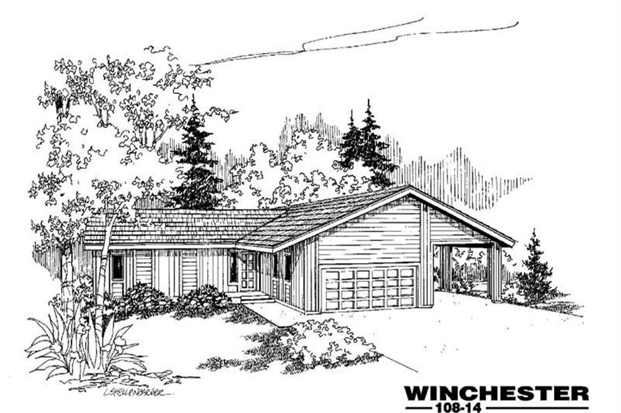 Main image for house plan # 3315