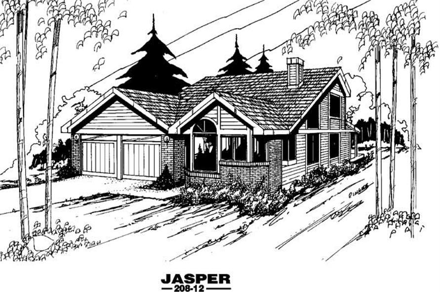 Main image for house plan # 3341