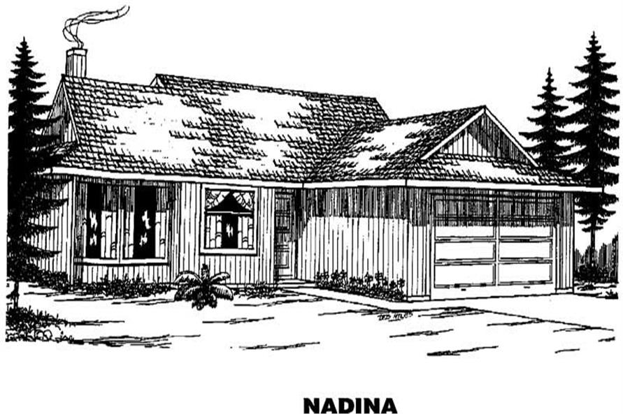 Main image for house plan # 3318