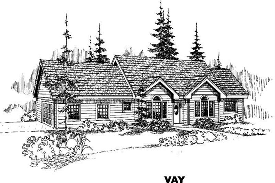 Main image for house plan # 4676