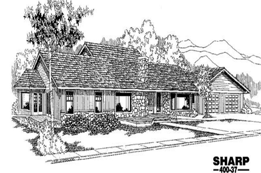 Main image for house plan # 3859