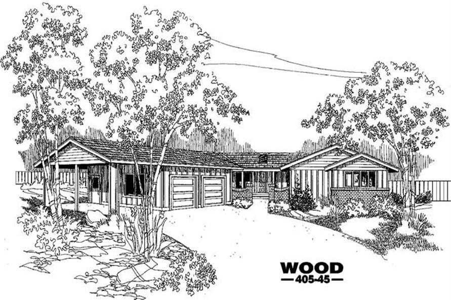 Main image for house plan # 6375