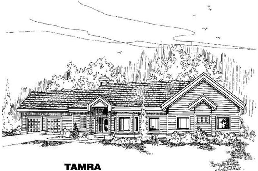Main image for house plan # 5532