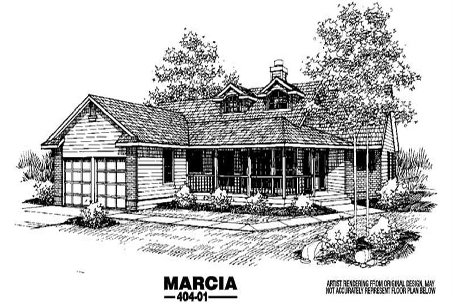 Main image for house plan # 5534