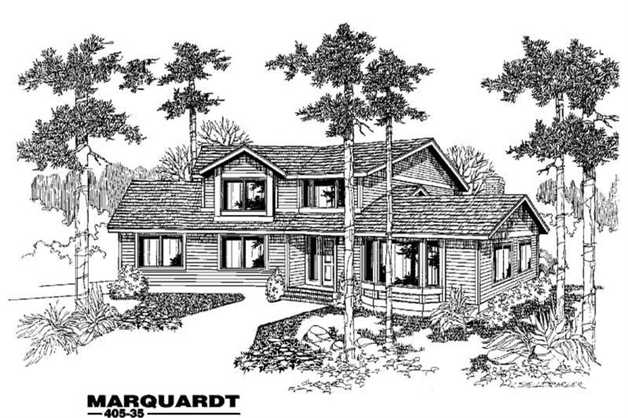 Main image for house plan # 6370