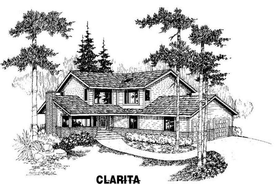 Main image for house plan # 3492