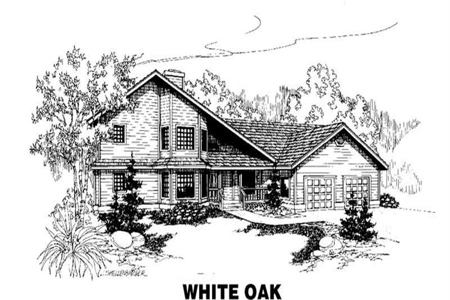 Main image for house plan # 3515