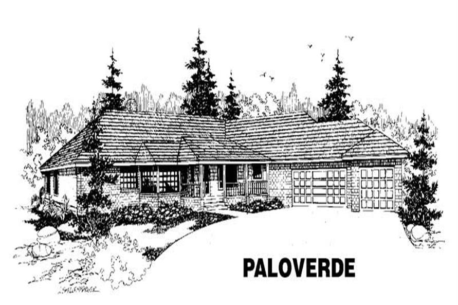 Main image for house plan # 3513