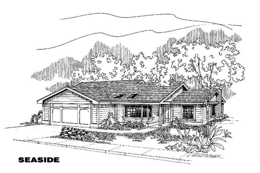 Main image for house plan # 5589