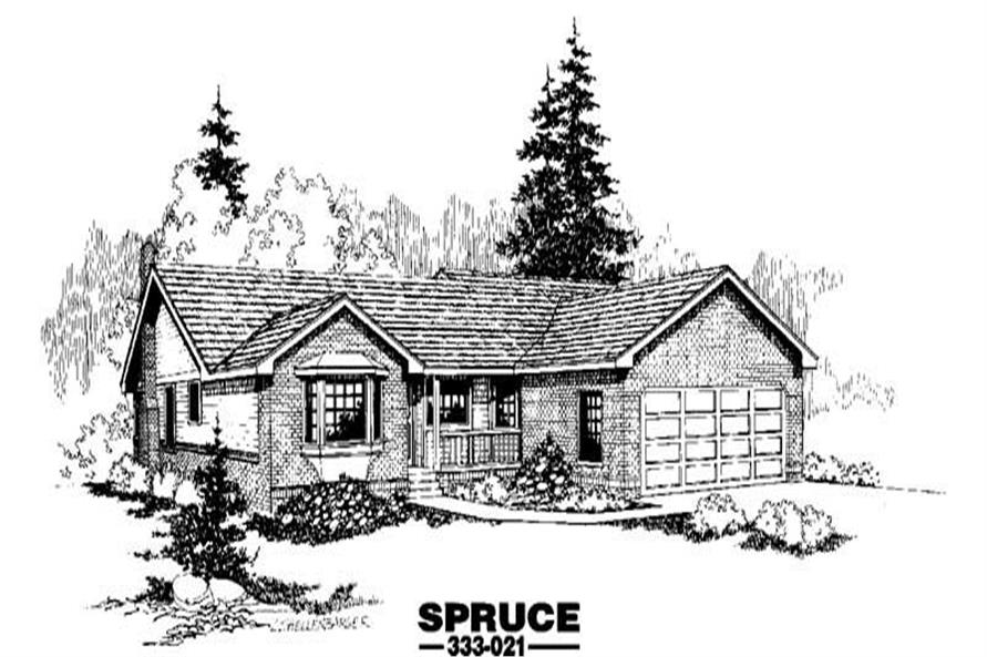 Main image for house plan # 3495
