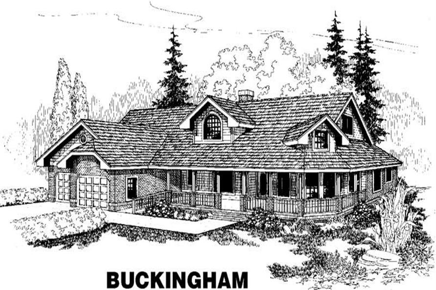 Main image for house plan # 3493