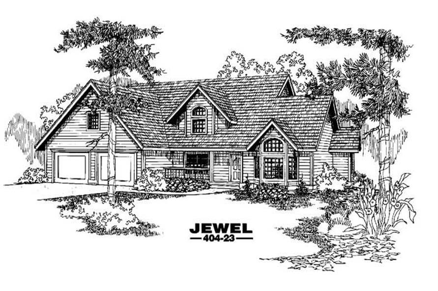 Main image for house plan # 5588