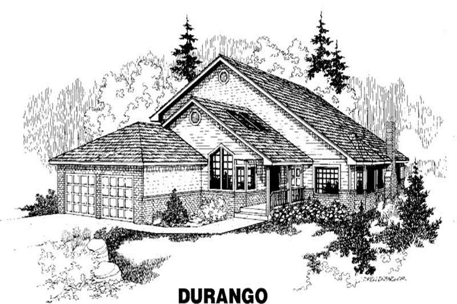 Main image for house plan # 3491