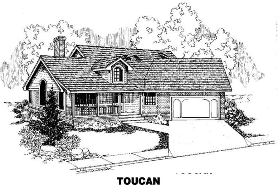 Main image for house plan # 3490