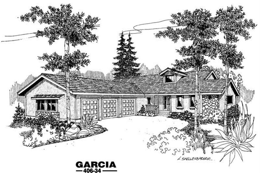 Main image for house plan # 6579