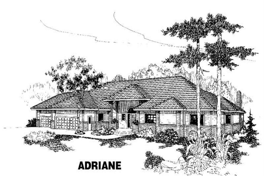 Main image for house plan # 3481