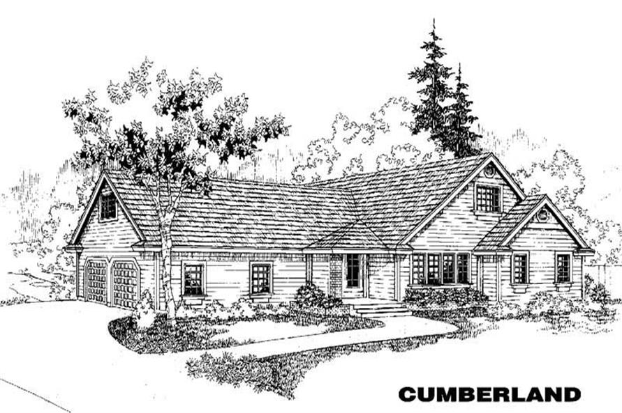 Main image for house plan # 3450