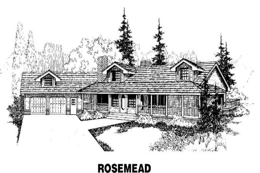 Main image for house plan # 3449