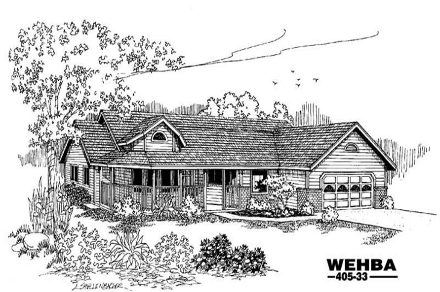 Main image for house plan # 6368