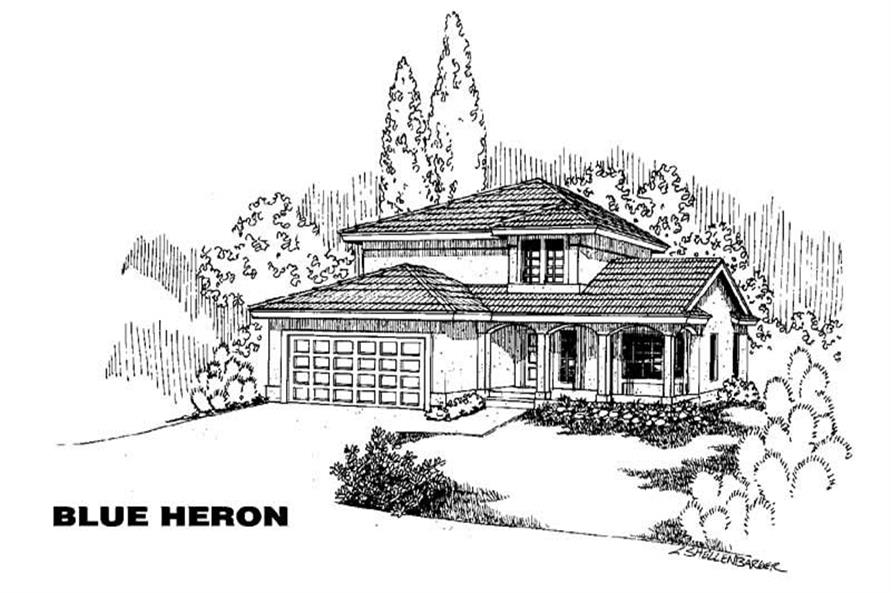 Main image for house plan # 5597
