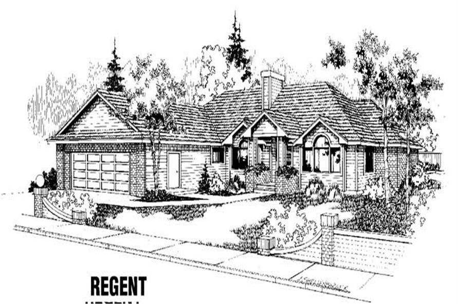 Main image for house plan # 3417
