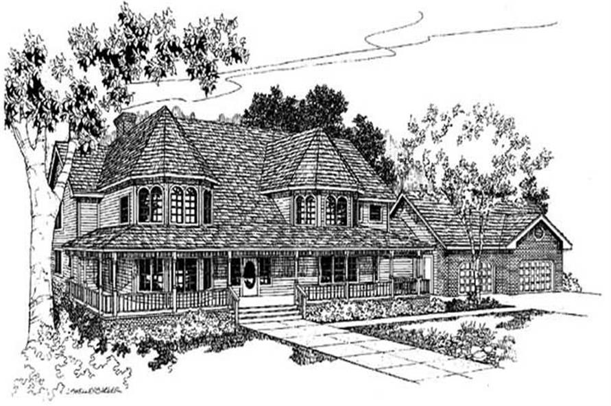 Main image for house plan # 3415