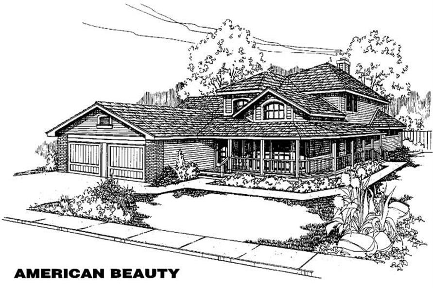 Main image for house plan # 3895