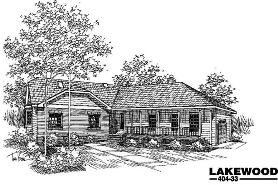 Main image for house plan # 5595
