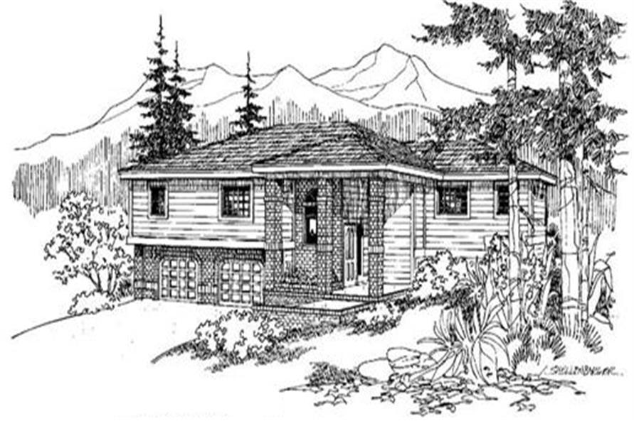 Main image for house plan # 4879