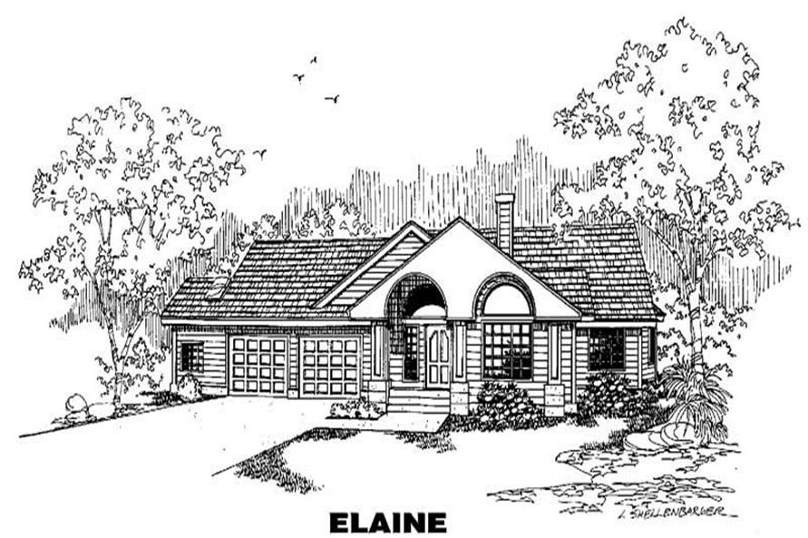Main image for house plan # 5592