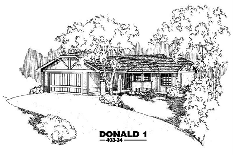 Main image for house plan # 4877