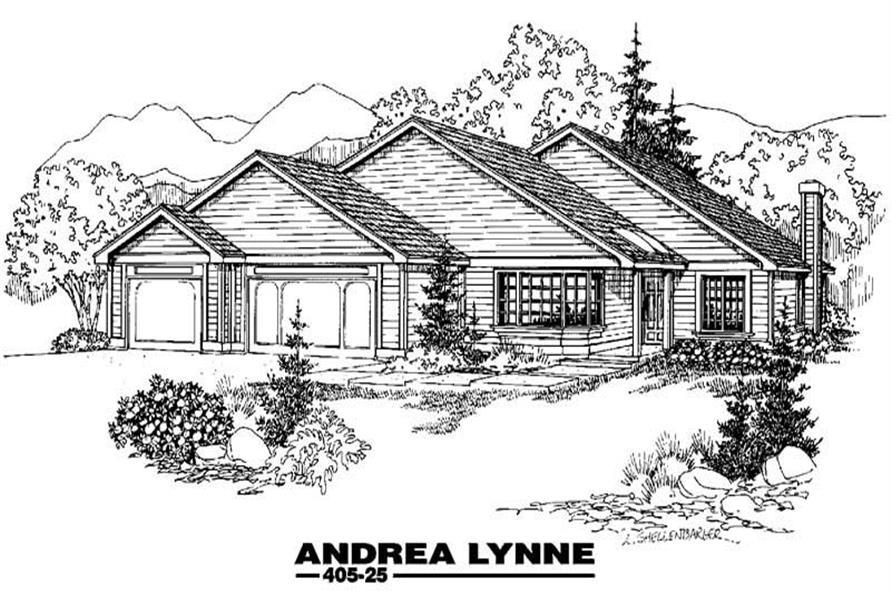 Main image for house plan # 6362